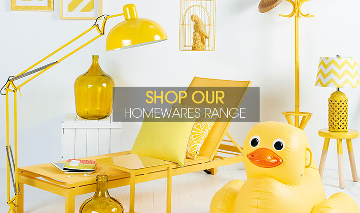 Shop our homewares range