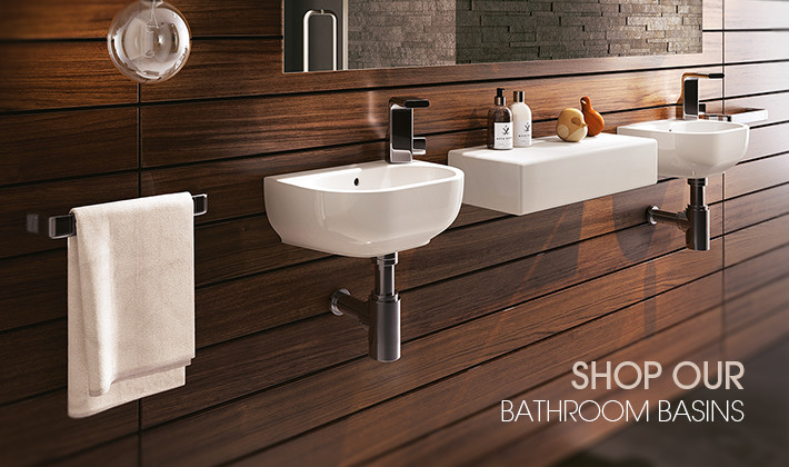 Domayne Bathrooms have a basin for every bathroom style. Click here to see the latest in Italian basin designs.