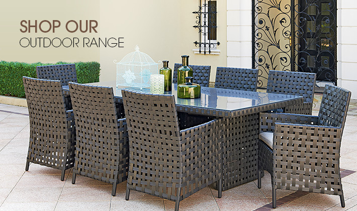 Shop our outdoor furniture range