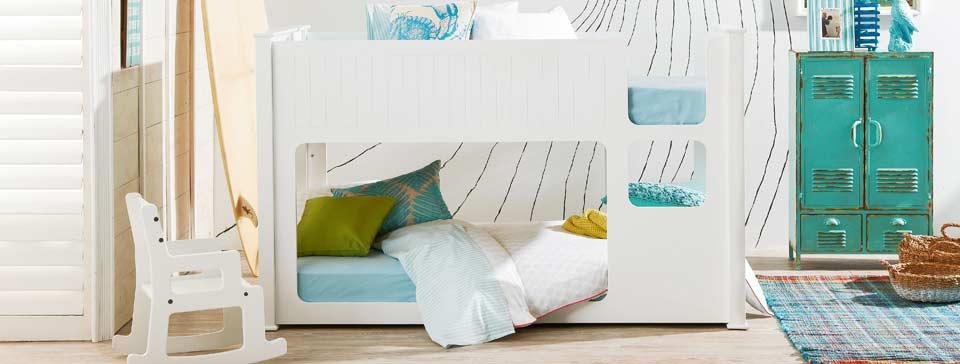 kid beds kids furniture bunk beds toddler bed domayne. Black Bedroom Furniture Sets. Home Design Ideas