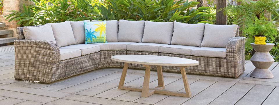Outdoor lounge sun lounge lounge chairs wicker lounge for Lounge sofa garten shop