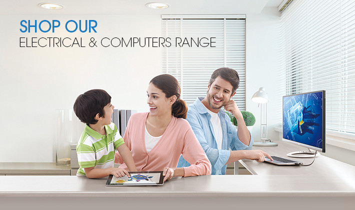Shop Our Electrical & Computers Range