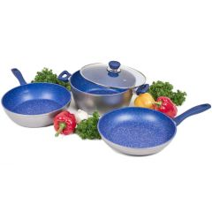 FlavorStone 28cm Essential Non-Stick Cookware Set